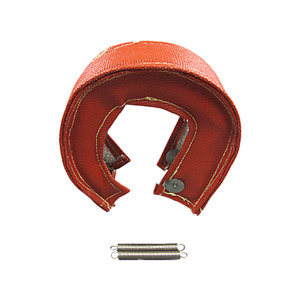 Cxracing Red Turbo Heat Shield Blanket Fiber For Gt25 Gt28 Td04 Td05 16g 18g T3