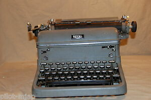 Vintage Royal Model Kmg Manual Typewriter