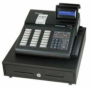 Sam4s Er 925 Cash Register With Raised Keyboard With Receipt Printer