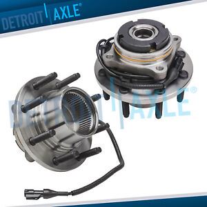 4wd Front Wheel Hub Bearing For Excursion F 250 F 350 Super Duty Srw Fine Thread