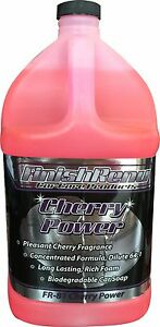 Cherry Power Finish Renu Car Care Soap Shampoo Clean 1 Gallon 081
