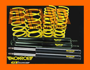 Vh Commodore V8 Sedan 70mm Ultra Low King Springs Monroe Gt Struts Shocks