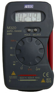 New Apeco M320 Pocket Auto Range Digital Multimeter Dmm
