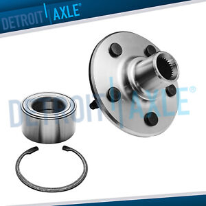New Rear Driver Or Passenger Complete Wheel Hub And Bearing Assembly