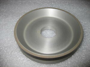Diamond Plain Cup 6a9ss Style Grinding Wheel 4 180 Grit New Adt0036 180