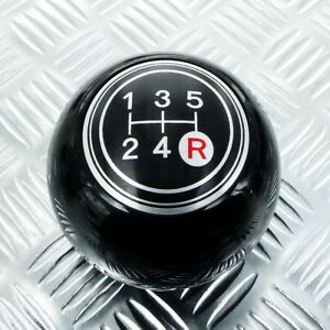 Shift Knob 5 Speed Black 8mm 12mm Manual Mt Fit To Yo Ta Mazda Datsun Old Model