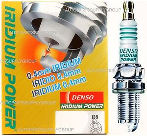 4 Denso Ik22g Iridium Power Performance Spark Plugs Civic s2000 rsx nsx Si s