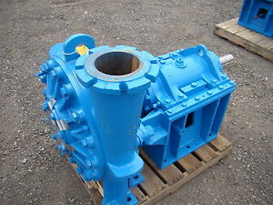 Warmin Weir Minerals Recirculating Slurry 6 X 6 Pump C 5 Ash