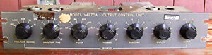 Varian Output Control Unit V4270a Twt Tube Amplifier Microwave Traveling Tube