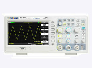 New Siglent 25mhz Sds1022dl Digital Storage Oscilloscope 2 Channels 1 Ext Trig