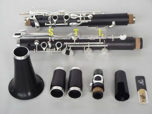 professional G key clarinet ebony wood body Good sound and material