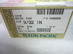 new Tulon Pacific Pcb Router Bits 53300938 Series 5330 3 32 X 405 39pcs