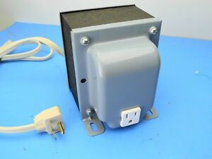 Triad Magnetek N 9mg N9mg 1250va Prim 230v Sec 115v Transformer Step Down