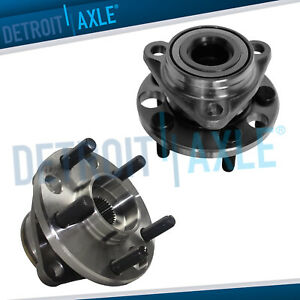 2 Front Wheel Bearing Hub For 1995 2004 2005 Pontiac Sunfire Chevy Cavalier