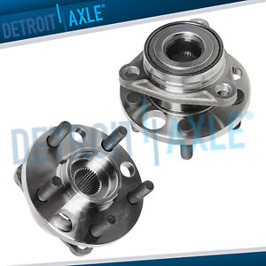 2 Front Wheel Bearing Hub For 1995 2005 Pontiac Sunfire Chevy Cavalier