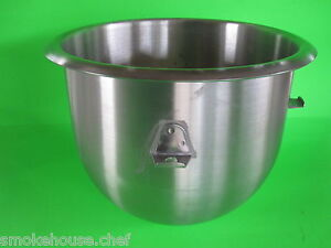 New Stainless Steel Heavy duty Bowl For The Hobart Mixer C100 C100t 10 Quart