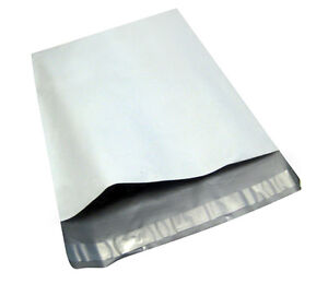 50 19x24 White Poly Mailers Envelopes Bags 19 X 24