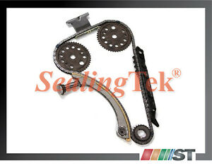 Fit 00 11 Gm 2 0l 2 2l Dohc Ecotec Engine Timing Chain Kit Z22se L61 L42 Lsj Lnf