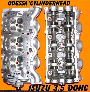 Isuzu Trooper Rodeo Axiom 3 5 V6 Dohc Cylinder Heads Standard Fuel Injection