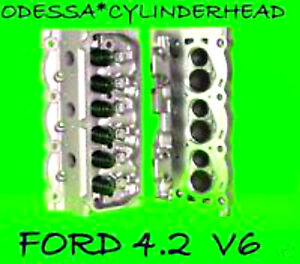 Ford F150 Taurus Sable 4 2 Ohv Cylinder Heads Rebuilt