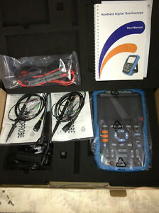 Siglent Shs810 100mhz Handheld Digital Osiclloscope 2 Channels 1gsa s