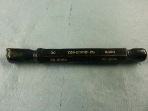 7 16 20 Unf 2b Thread Plug Gage Go No Go Gauge Machine Shop 4375 Quality