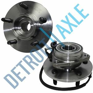 00 02 Ford Expedition Lincoln Navigator 2 Front Wheel Bearing Hub 14mm Bolt 4wd