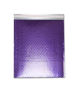 Metallic Glamour Bubble Mailers Padded Envelope Bags 16 X 17 5 Purple 50 case
