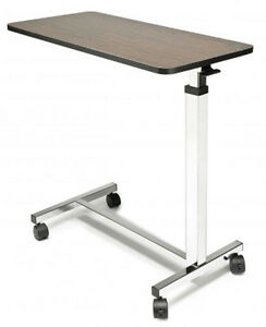 Lumex Medical Overbed Table Over Bed Height Adjustable Non Tilt