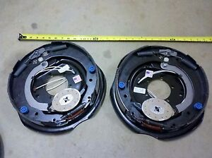 2 Dexter Trailer 12 X 2 Electric Brakes Assembly 6000 Axle Left Right Pair