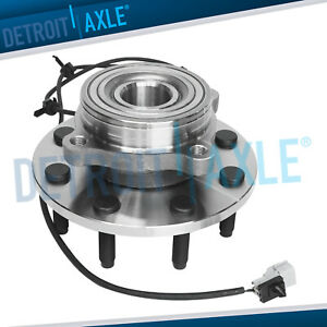 Front Wheel Bearing And Hub For 2000 2001 2002 Ram 2500 3500 Abs And 4wd 4x4