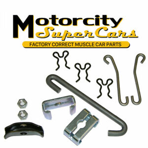 68 72 Gm A Body T350 Mt Emergency Parking Brake Cable Hardware Set Ss Ls6