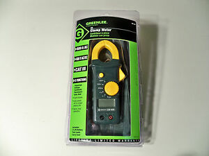 Greenlee Cm 600 Ac dc 600a Clamp on Meter Multimeter Clampmeter New