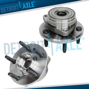 Set Of 2 New Front Wheel Hub And Bearing Assembly For Ford Taurus Continental