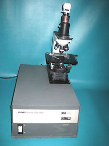 Kramer Scientific Xm160 leitz Wetzlar Projection Microscope Made In Germany