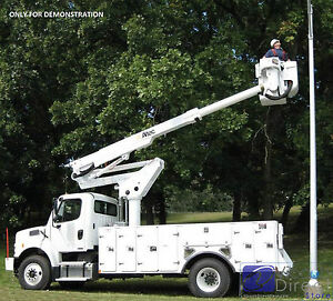 Hydraulic Lift Boom Altec Ta40 2000 Telescopic Articulating For Bucket Truck