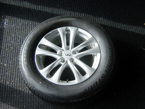 Set Of 4 Brand New 18 Inch Bridgestone Dueler Tires
