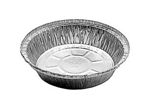 7 Round Aluminum Foil Take out Pan 500 Bulk Pack Disposable Tin Containers