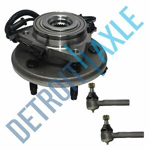 Front Wheel Bearing Hub Tie Rods 2002 2003 2004 2005 Ford Explorer Mountaineer