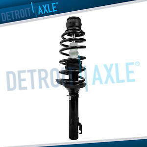Vw Jetta Beetle Golf Complete Front Ready Strut Coil Spring Mount Assembly