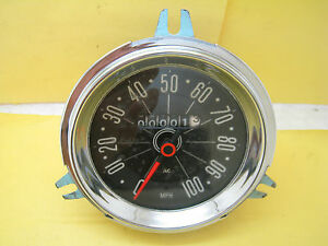 Nos Ac Vintage Speedo Meter3 8 100 Mph British Classic Vehicles