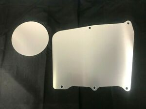 67 72 Chevy Truck Heater Delete Panel Plate Blower Cover No Holes