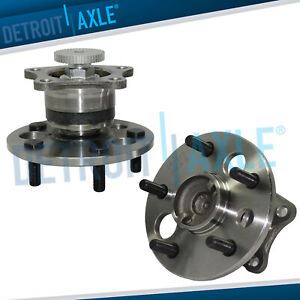 Rear Wheel Bearing Hub Pair Abs For Toyota Camry Avalon Solara Lexus Es300