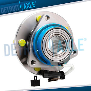 New Front Wheel Hub Bearing Assembly 5 Lug Abs For Chevy Buick Cadillac