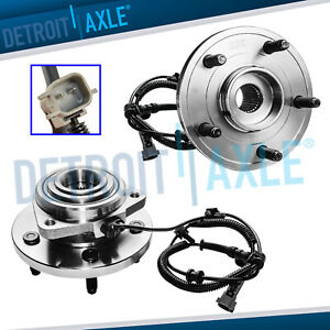 2 Front Wheel Bearing Hub 2005 2010 Jeep Grand Cherokee Commander 3 0l 3 7l 4 7l