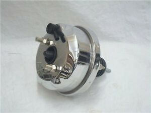 Universal 7 Chrome Street Rod Power Brake Booster Ford Chevy