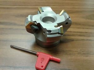 2 1 2 45 Degree Indexable Face Shell Mill face Milling Cutter Sean42aftn new