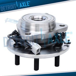 New Front Left Wheel Hub And Bearing Assembly For Dakota Durango 4wd 4x4 W Abs