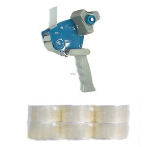 Tape Gun And 12 X Rolls Of 2 Inch Packing Tape Free Shipping