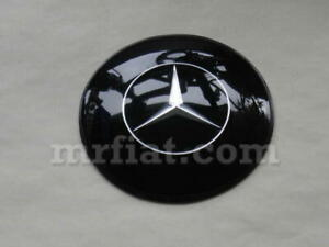 Mercedes 300 Sl Gullwing 1954 57 Black 76 Mm Horn Button New